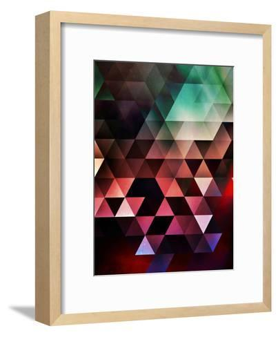 Untitled (gyyn tydyy)-Spires-Framed Art Print