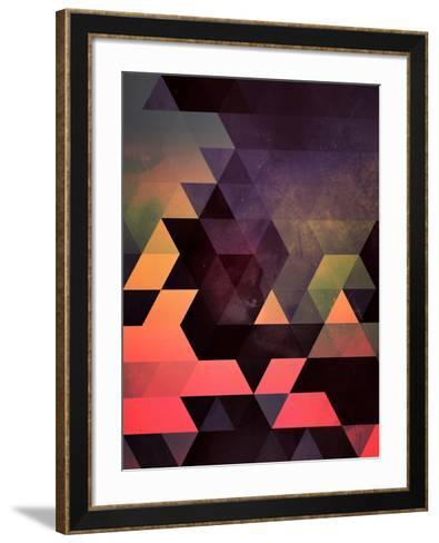 Untitled (dygyt)-Spires-Framed Art Print