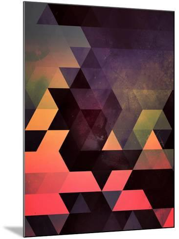 Untitled (dygyt)-Spires-Mounted Art Print