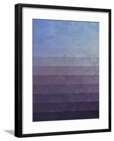 Untitled (myssyng yww)-Spires-Framed Art Print