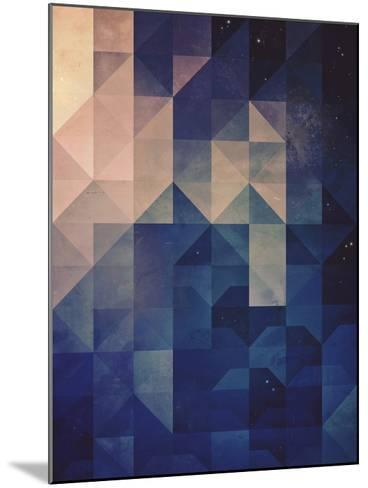 Untitled (hystyry)-Spires-Mounted Art Print