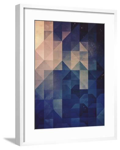 Untitled (hystyry)-Spires-Framed Art Print
