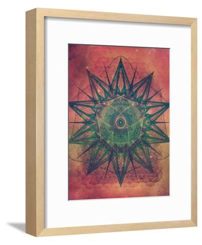 Untitled (styr stryy)-Spires-Framed Art Print