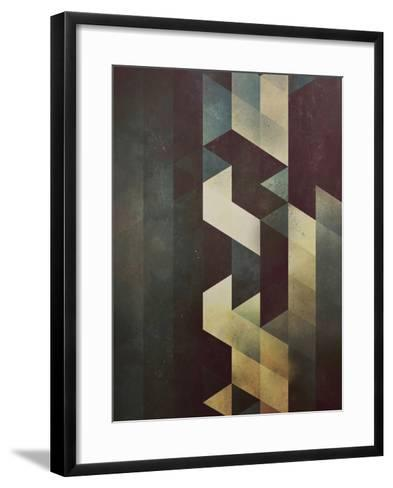 Untitled (sylf myyd)-Spires-Framed Art Print
