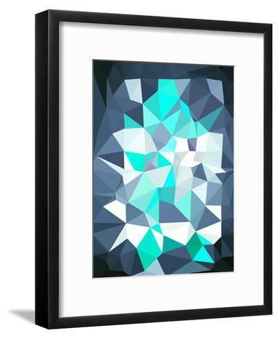 Untitled (xlyte)-Spires-Framed Art Print