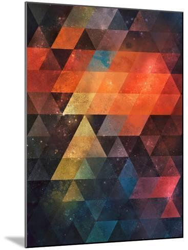 Untitled (nyst)-Spires-Mounted Art Print