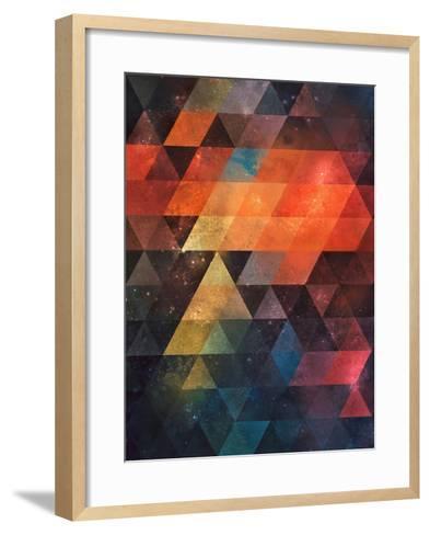 Untitled (nyst)-Spires-Framed Art Print