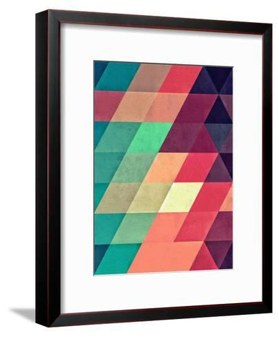 Untitled (xy tyrquyss)-Spires-Framed Art Print
