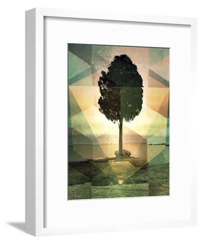 Untitled (frt phyynyx)-Spires-Framed Art Print