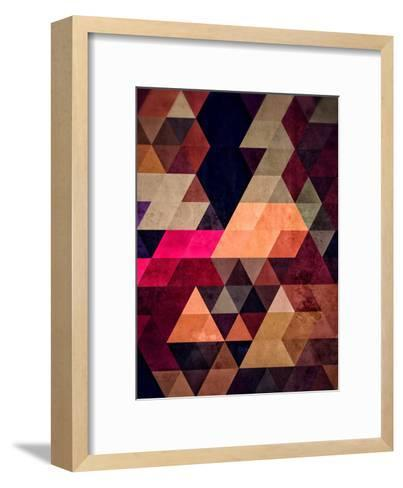 Untitled (pyt)-Spires-Framed Art Print