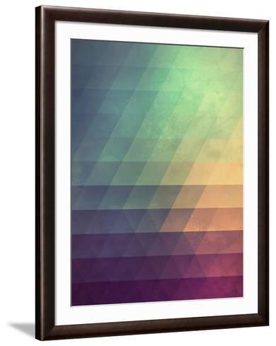 Untitled (fyde)-Spires-Framed Art Print