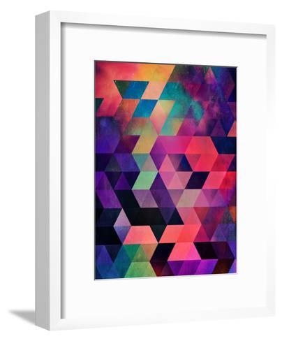 Untitled (rykynnzyyll)-Spires-Framed Art Print