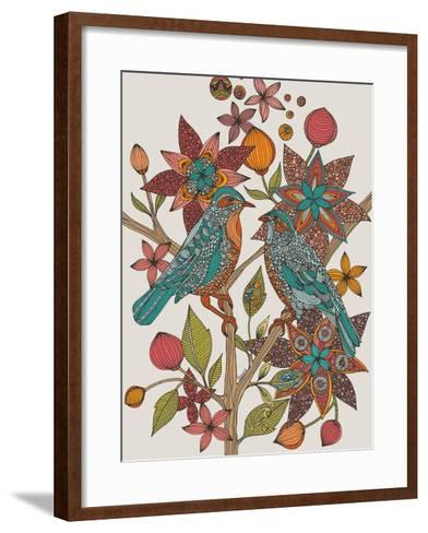 Lovebirds-Valentina Ramos-Framed Art Print