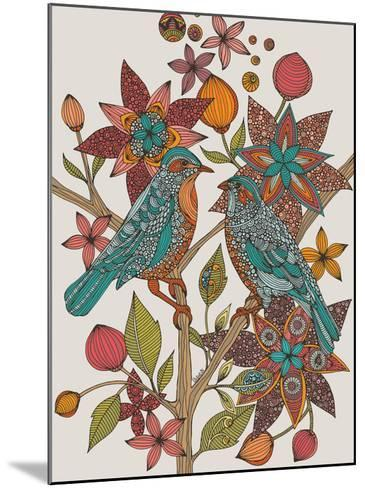 Lovebirds-Valentina Ramos-Mounted Art Print