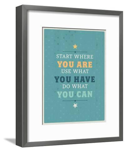 You Are-Maria Hernandez-Framed Art Print