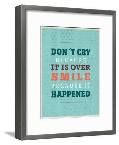 Cry Smile-Maria Hernandez-Framed Art Print