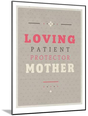 Loving Mother-Maria Hernandez-Mounted Art Print