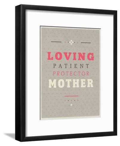 Loving Mother-Maria Hernandez-Framed Art Print