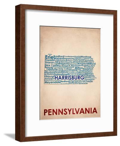 Pennsylvania--Framed Art Print