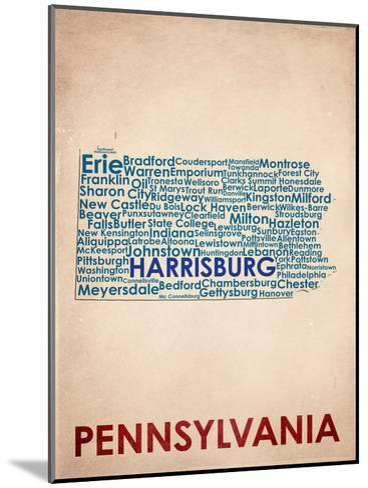 Pennsylvania--Mounted Art Print