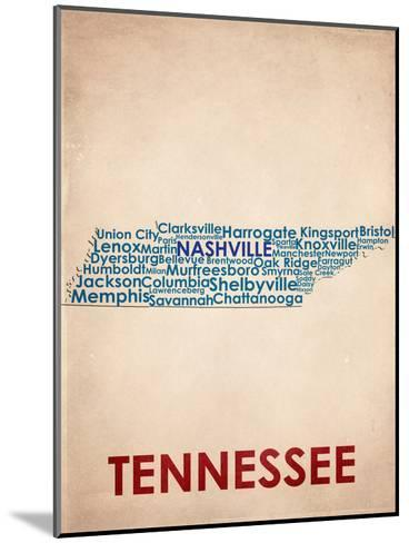 Tennessee--Mounted Art Print