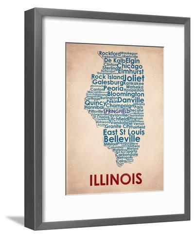 Illinois--Framed Art Print