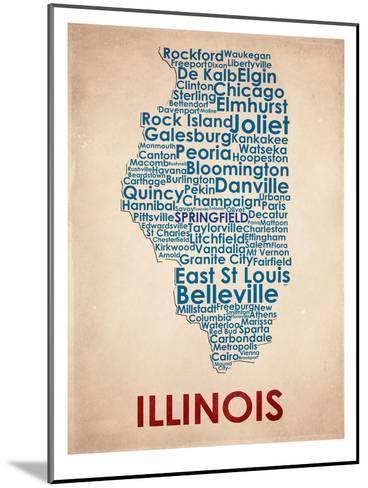 Illinois--Mounted Art Print