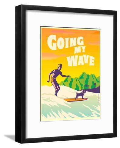 Going My Wave-Diego Patino-Framed Art Print