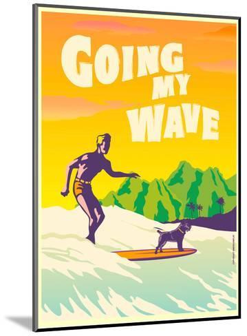Going My Wave-Diego Patino-Mounted Art Print