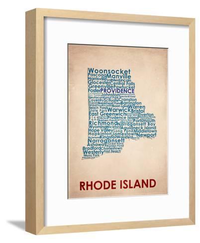 Rhode Island--Framed Art Print