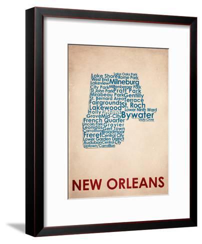 New Orleans--Framed Art Print