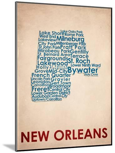 New Orleans--Mounted Art Print