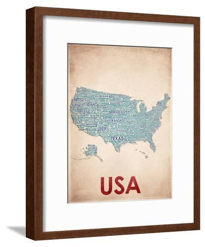 USA--Framed Art Print