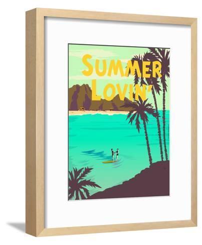 Summer Lovin'-Diego Patino-Framed Art Print