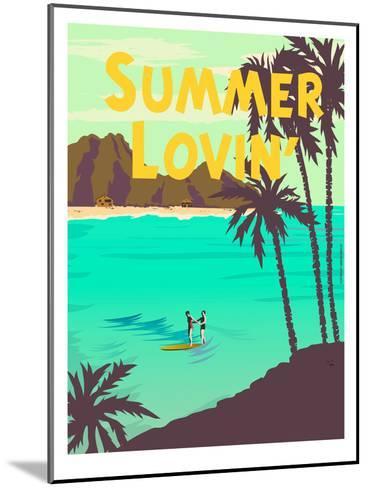 Summer Lovin'-Diego Patino-Mounted Art Print