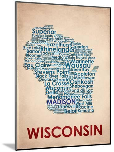 Wisconsin--Mounted Art Print