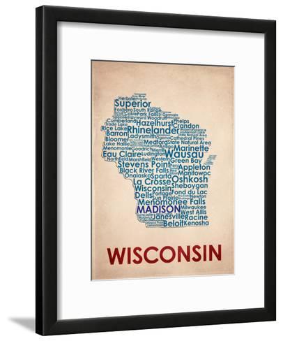 Wisconsin--Framed Art Print