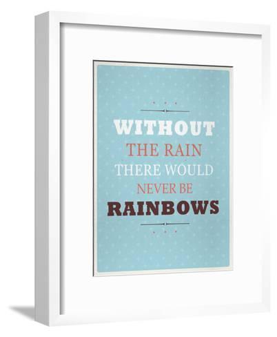 Rainbows-Maria Hernandez-Framed Art Print