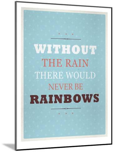 Rainbows-Maria Hernandez-Mounted Art Print