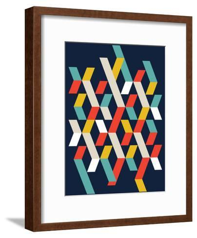 Abstract I-Patricia Pino-Framed Art Print