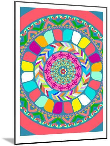 Pattern III-Patricia Pino-Mounted Art Print