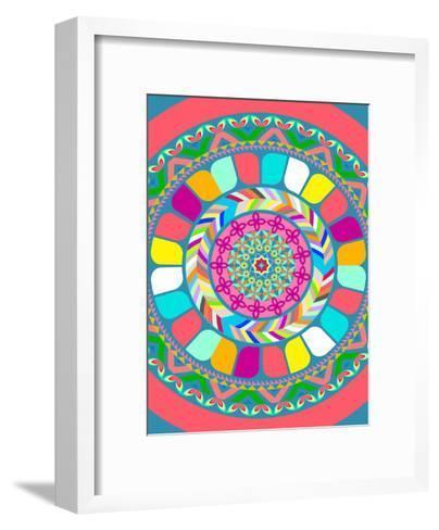 Pattern III-Patricia Pino-Framed Art Print