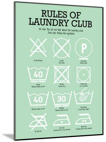Laundry Club Green-Patricia Pino-Mounted Art Print