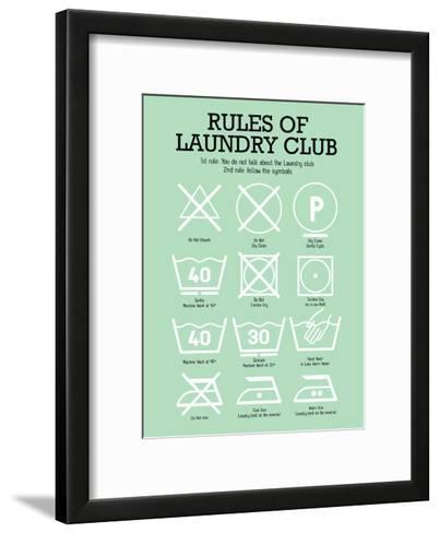 Laundry Club Green-Patricia Pino-Framed Art Print