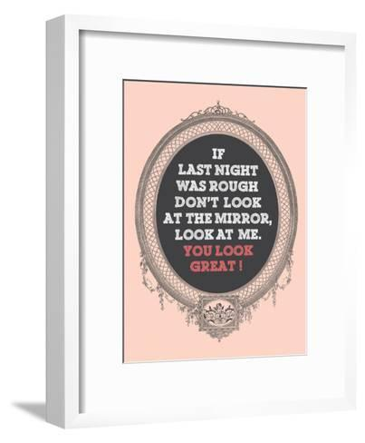 You Look Great-Patricia Pino-Framed Art Print