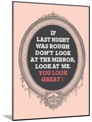 You Look Great-Patricia Pino-Mounted Art Print