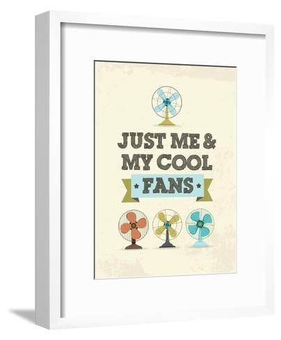 Cool Fans-Patricia Pino-Framed Art Print