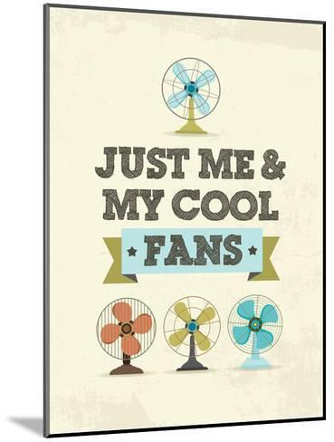 Cool Fans-Patricia Pino-Mounted Art Print