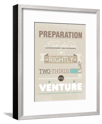 Preparation-Patricia Pino-Framed Art Print