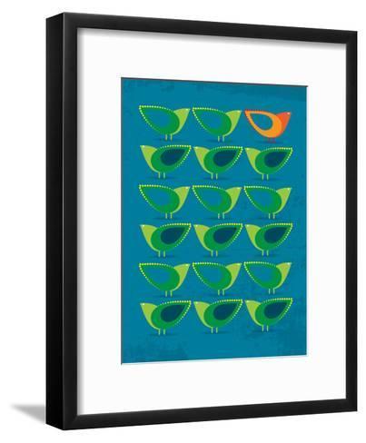 Birds Illustration III-Patricia Pino-Framed Art Print